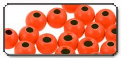 Perline (Brass Beads) fl.orange