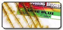Dubbing Brushes Hare Plus