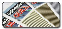Adhesive Quill Stripes