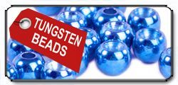 Tungsten Beads Blue