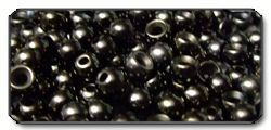 Brass Beads black