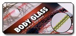Body Glass Half Round