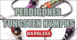 Tungsten Perdigones Ohne Widerhaken