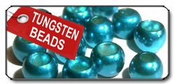 Tungsten Beads Metallic Blue