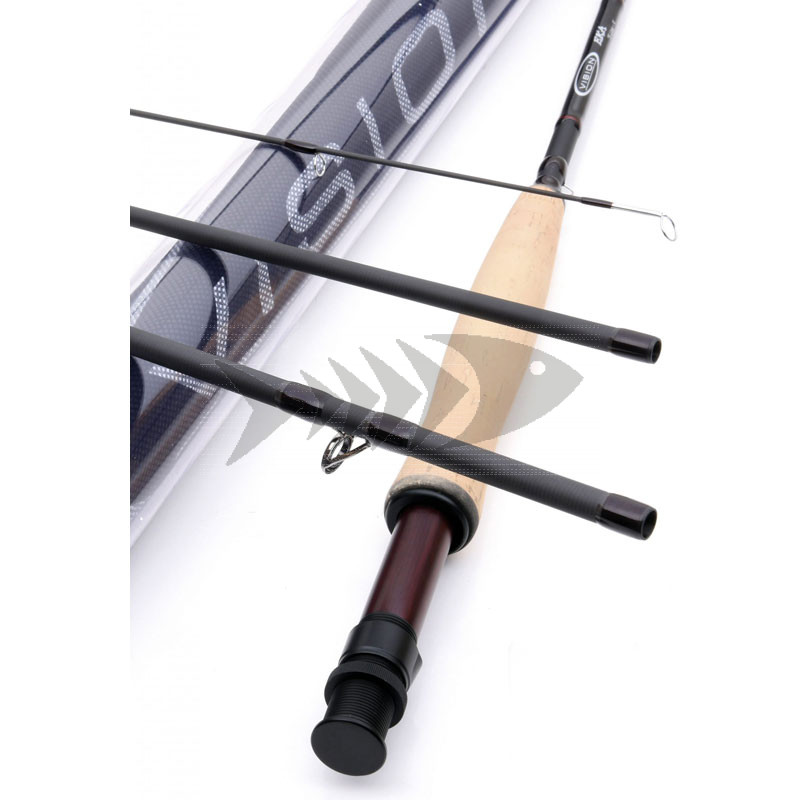 Fly rod Vision EKA   One Handed Medium Fast Action Fly Rod - River & Lake Fly Fishing rods