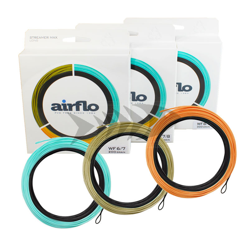 Fly line Airflo Streamer Max Long | Streamer Fly Line for trout, sea trout & saltwater