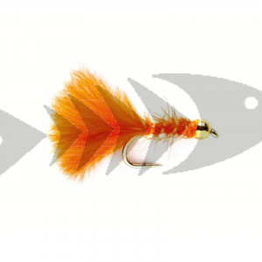 Classic Marabou orange | Trout Fly Streamer