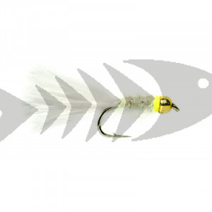 Classic Marabou white | Trout Fly Streamer