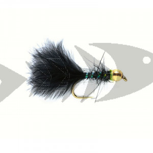Classic Marabou black | Trout Fly Streamer