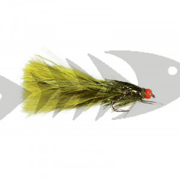 Orange Hot Head Damsel | Trout Fly Streamer