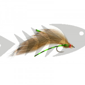 Flexi Olive Zonker BL | Barbless Trout Streamer