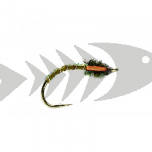 Blakeston`s Buzzer Dark Olive | Coregonus - Trout Nymph
