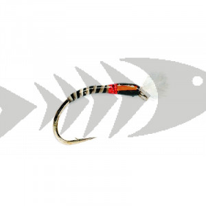 Quill Buzzer Black | Coregonus - Grayling - Trout nymph