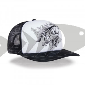 Guideline Angry Salmon Trout Trucker Cap
