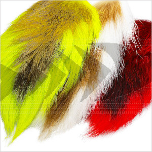 Bucktail Whole Large | Streamer Tying Natural Hair - Perch, Pike, Saltwater Streamer