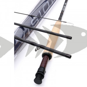 Fly rod Vision EKA | One Handed Medium Fast Action Fly Rod - River & Lake Fly Fishing rods