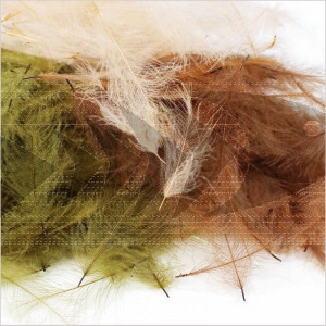 Cul de Canard Feathers 3 grams   Megapack CDC feathers for drie flies and nymphs