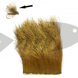 Elk Body Hair col. yellow