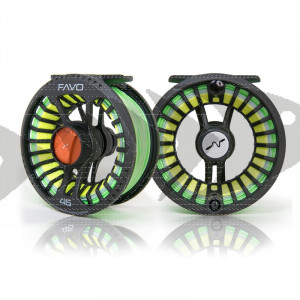 Fly reel Guideline FAVO - Large arbor reel for trout - grayling - pike