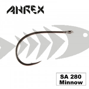 Ahrex SA 280 Minnow hook for fly tying saltwater baitfish pattern