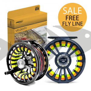 Fly reel Guideline HALO & Free Fly Line Airflo