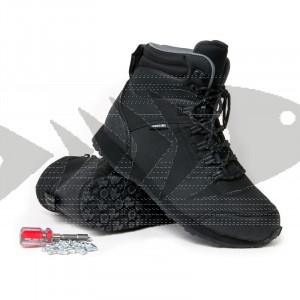 Wading Boots Guideline Kaitum Rubber Sole | Tungsten Studs