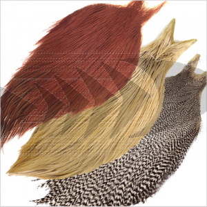 Metz Half Neck Cape Grade #3 | Hackle feathers fly tying material