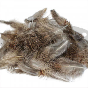 English Partridge Feathers Grey Brown Back | Wing fly Tying material