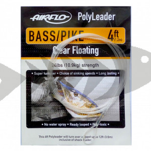 Polyleader Airflo Floating Bass/Pike 4 ft