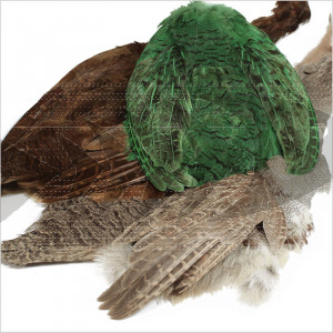 Hungarian Partridge Complete Skin | Grade #1 Quality Skin for nymphs & wet flies