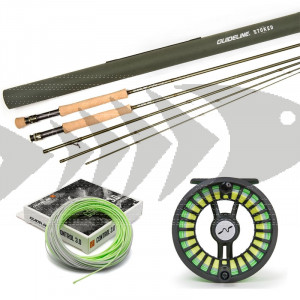 Guideline Stoked Fly combo - Onehand rod - Large Arbor Reel - Fly Line