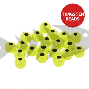 Tungsten Beads col. chartreuse