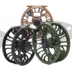 Fly reel Vision Hero - Large arbor reel for trout - grayling - pike
