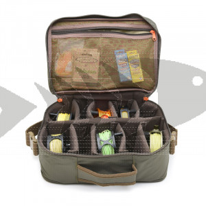 Vision Reel Bag - Military green | Fly fishing reelbag