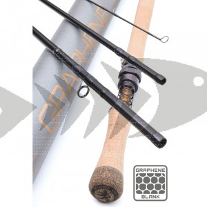 Fly rod Vision XO DH Graphene | Double Hand Smooth Action Fly Rod