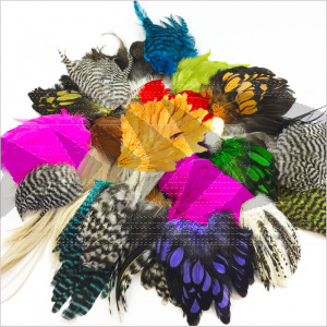 Whiting Fly Tier`s Variety Pack | Fly tying streamer feathers