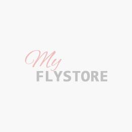 Pelliccia di coniglio a strisce black barred col.lime green