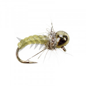 Caddis Yellow Off Bead Nymph