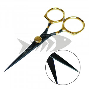 "GF Fly Tying High Carbon Scissors 5"" Adjustable Tension"