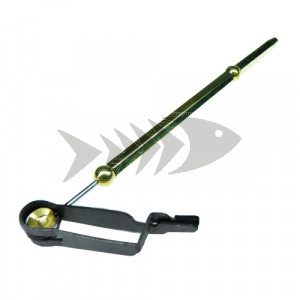 Rotating hackle plier