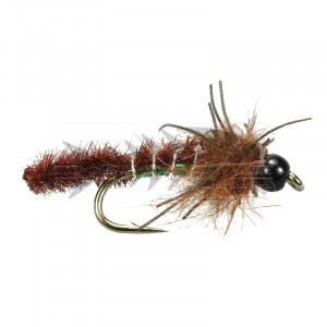 Rub a Dub Caddis Pupa Brown