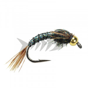 Tung Steelhead Lightning Bug Black