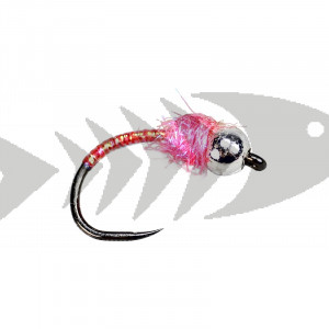 Barbless Tungsten Pink Pearl Chironome