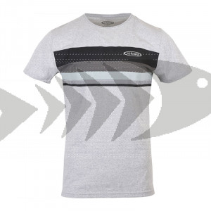 T-Shirt Vision Stripe - Front - Verarbeitung 100% recycelbarer Stoffe