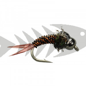 Twisted Sister Copper & Black #14