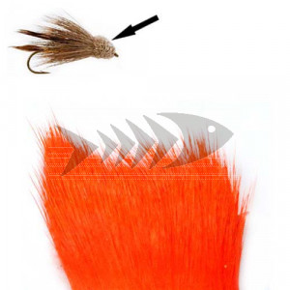 Pelo di cervo col. fluo orange