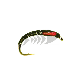 Buzzer Olive (Superglue) | Camole da coregone - mosca per trote e temoli