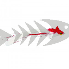 Rabbit Strip Diver Red & White