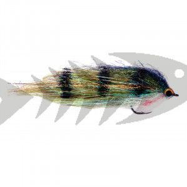 Clydesdale Green Perch | Streamer da luccio 12,5cm