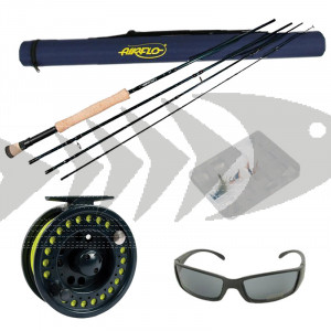 Kit pesca a mosca Bass, Pike & Saltwater